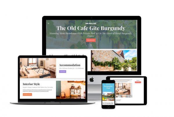 Holiday rental Gite Website