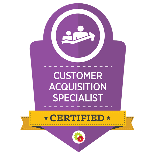 Customer Acquisition Specialist Graphic