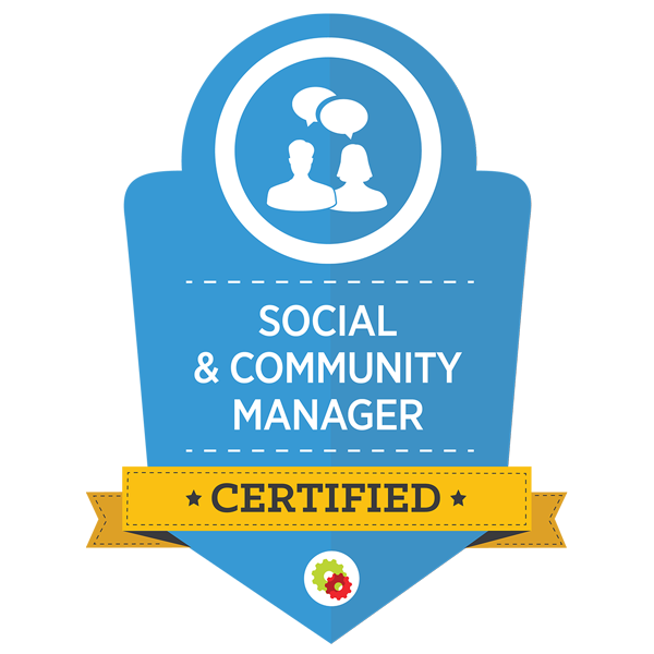 Social & Community ManagerGraphic