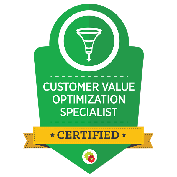 Customer Value Optimization Specialist Graphic